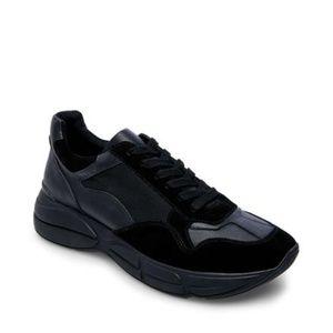 Steve Madden Cole Men's Black Sneaker Size 9 New